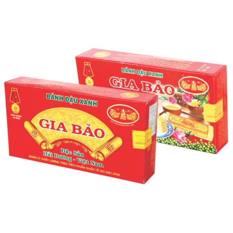家宝绿豆饼 小型盒